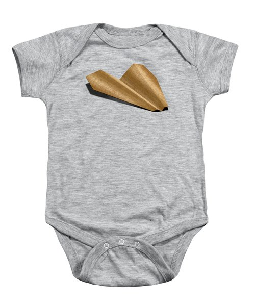 Paper Airplanes Of Wood 6 Baby Onesie by YoPedro