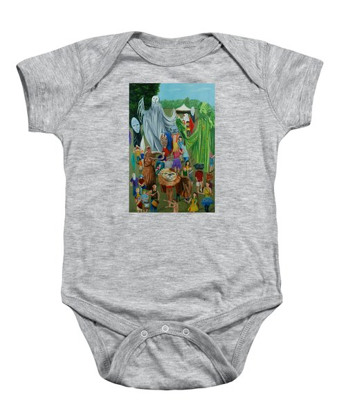 Paperhand Puppet Parade Baby Onesie