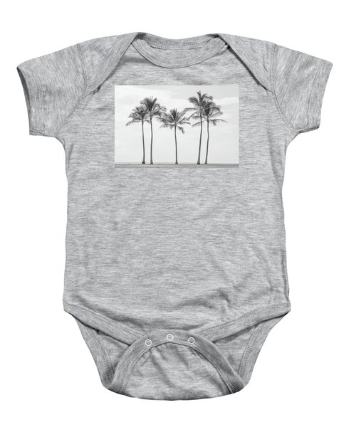 Paradise In Black And White II Baby Onesie