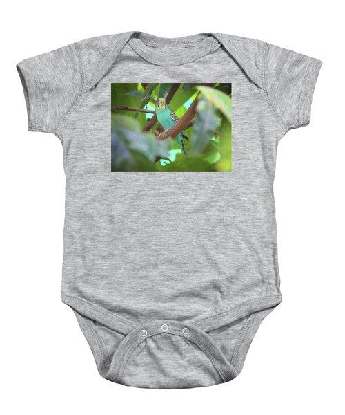 Parakeet Baby Onesie