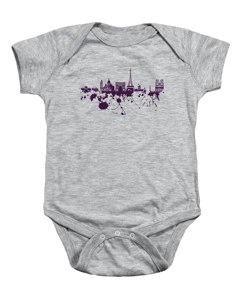 Paris Skyline.1 Baby Onesie