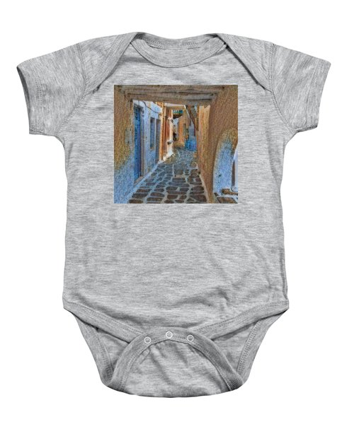 Baby Onesie featuring the photograph Paros Beauty Island Greece  by Colette V Hera Guggenheim