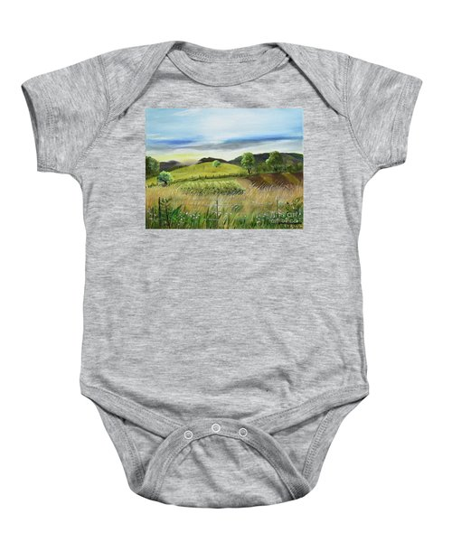 Pasture Love At Chateau Meichtry - Ellijay Ga Baby Onesie