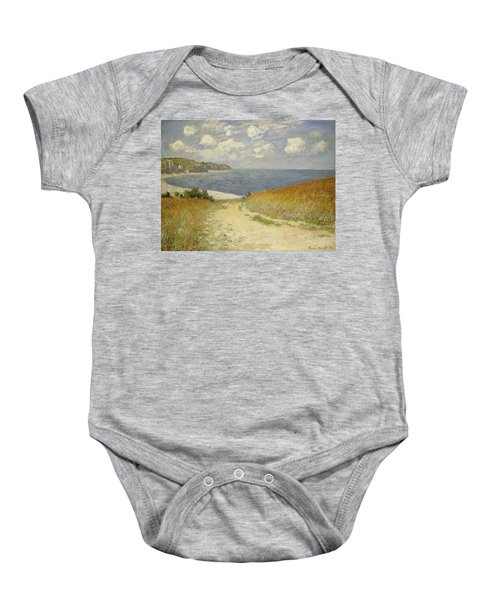 Path In The Wheat At Pourville Baby Onesie