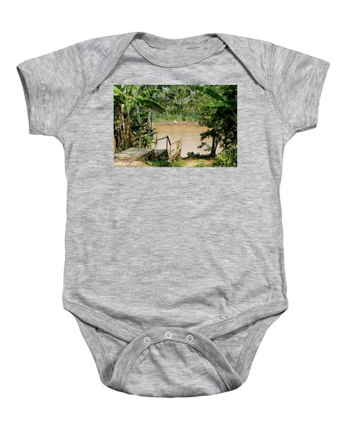 Path To The Amazon River Baby Onesie