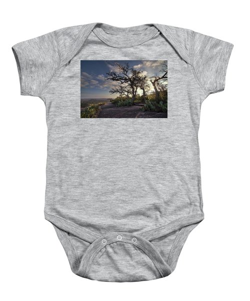 Pathway On Top Of Enchanted Rock Baby Onesie
