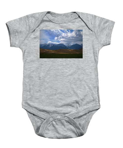 Pause And Reflect Baby Onesie