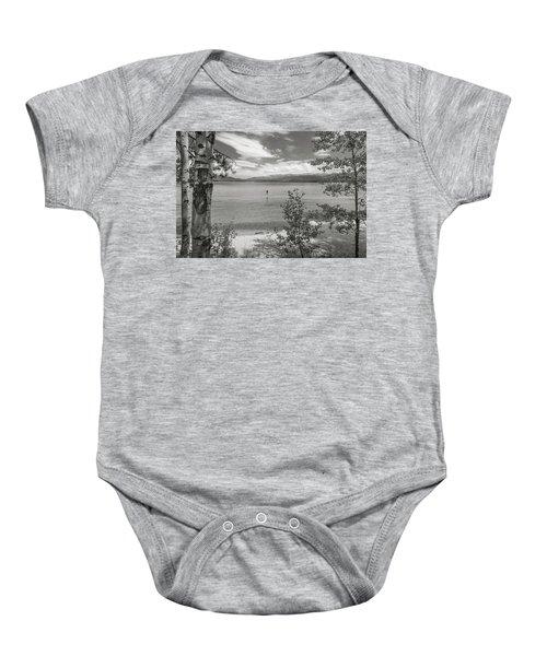 Payette Lake Boarder Baby Onesie