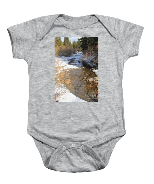Peace Like A River Baby Onesie