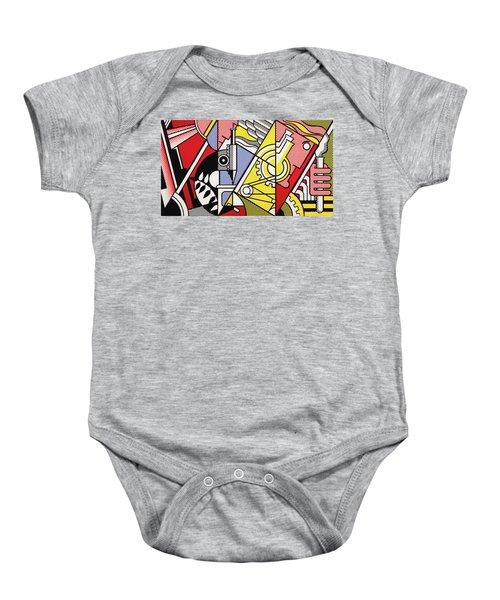 Peace Through Chemistry I - Roy Lichtenstein Baby Onesie