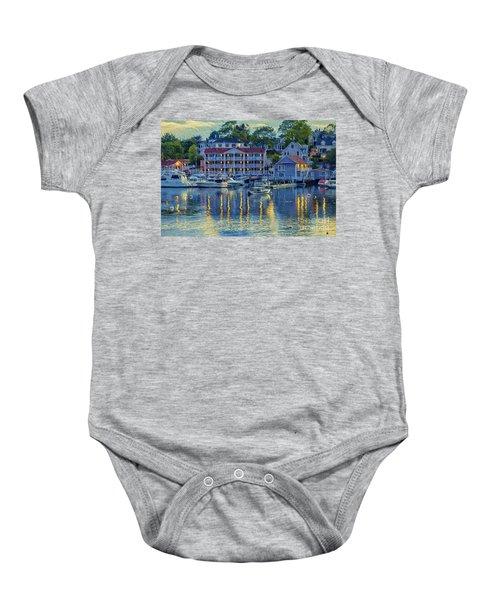 Peaceful Harbor Baby Onesie