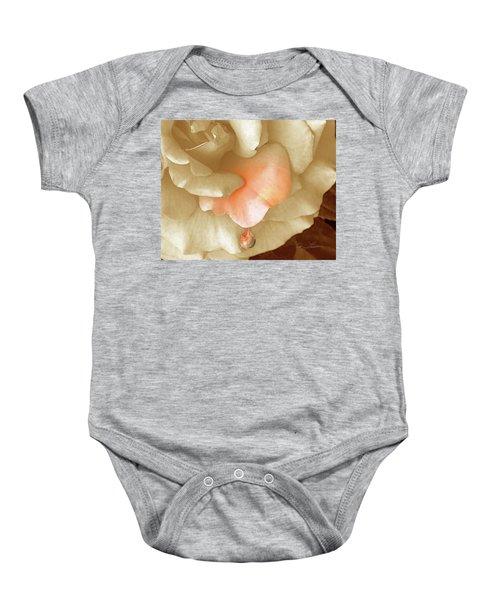 Peach Morning Baby Onesie
