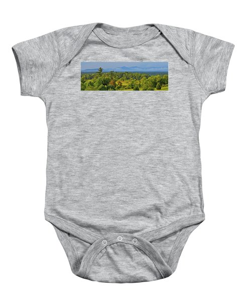 Peaks Of Otter After The Rain Baby Onesie