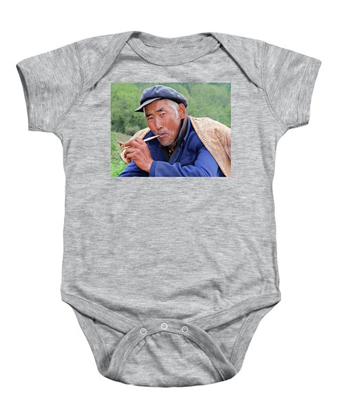 Peasant Farmer Baby Onesie