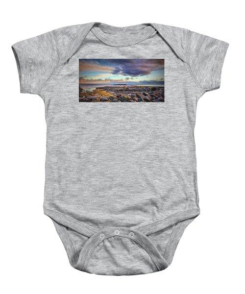 Pebbles And Sky  #h4 Baby Onesie