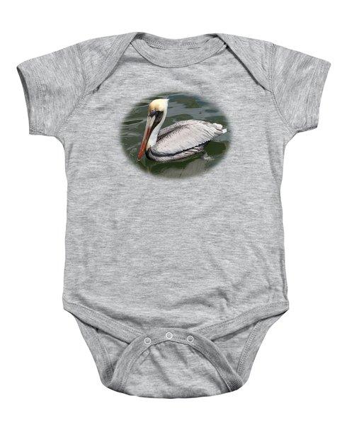 Pelican 3 Vignette Baby Onesie