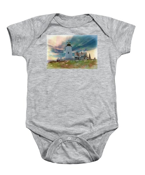 Pemaquid Lighthouse,maine Baby Onesie