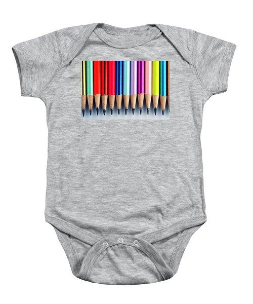 Pencils Baby Onesie
