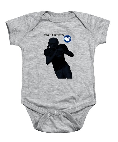 Baby Onesie featuring the digital art Penn State Football by David Dehner
