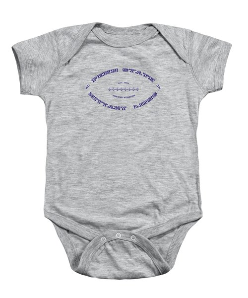 Penn State Nittany Lions Football Design With Transparent Background Baby Onesie