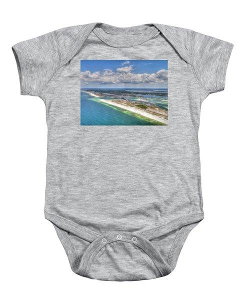 Perdido Pass Aerial 3029 Baby Onesie