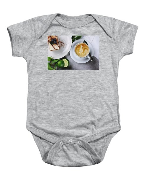 Perfect Breakfast Baby Onesie by Happy Home Artistry