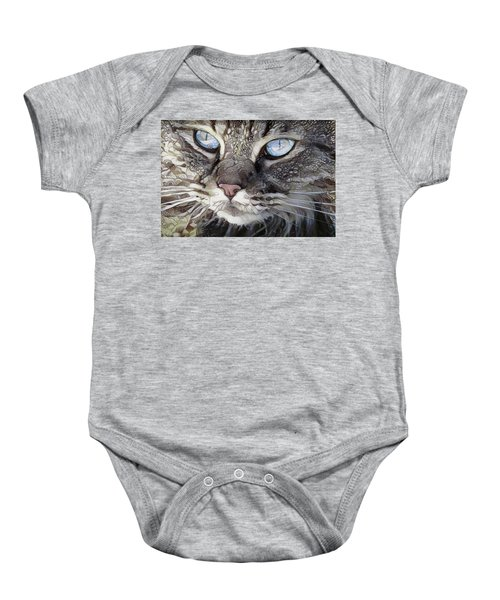 Perry The Persian Cat Baby Onesie