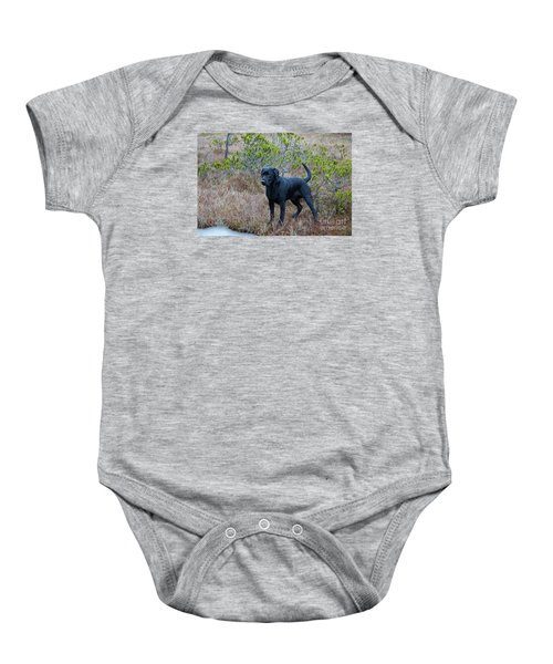 Pet Portrait - Radar Baby Onesie