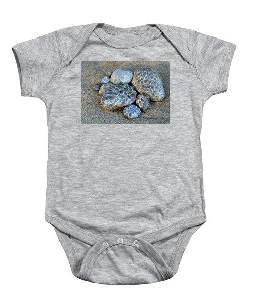Petoskey Stones Baby Onesie