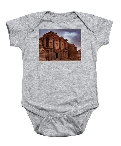 Petra's Monastery Baby Onesie