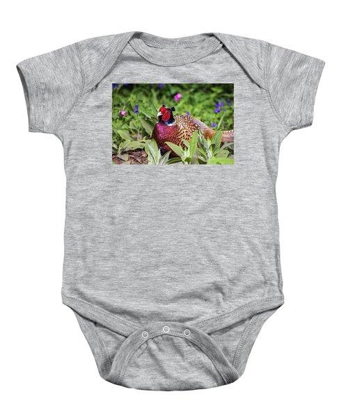 Pheasant Baby Onesie