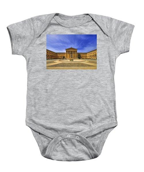 Philadelphia Art Museum Baby Onesie