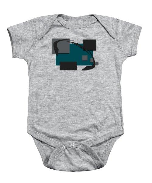 Philadelphia Eagles Abstract Shirt Baby Onesie by Joe Hamilton