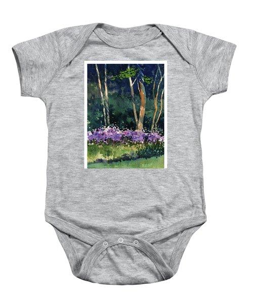 Phlox Meadow, Harrington State Park Baby Onesie