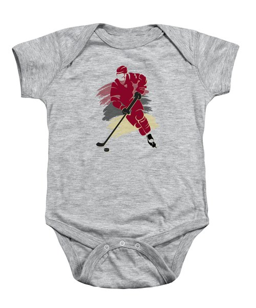 Phoenix Coyotes Player Shirt Baby Onesie by Joe Hamilton