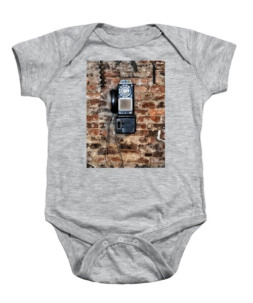 Pay Phone  Baby Onesie