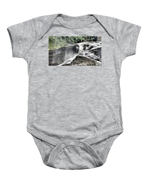 Picture Of Waterfalls At Letchworth Baby Onesie