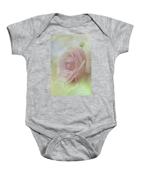 Pink Bliss Baby Onesie