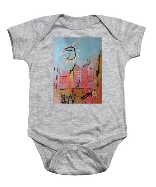 Pink City Baby Onesie