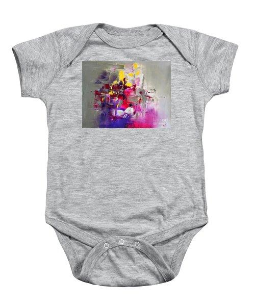 Pink Diamond Baby Onesie