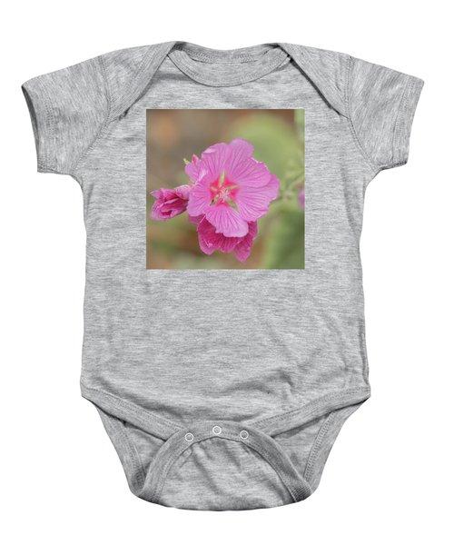 Pink In The Wild Baby Onesie