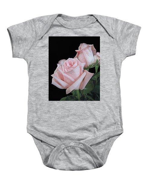 Pink Persuasion Baby Onesie