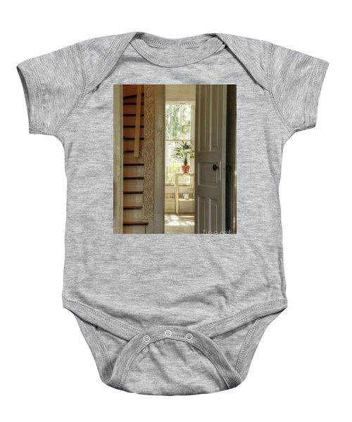 Plant In Window Baby Onesie