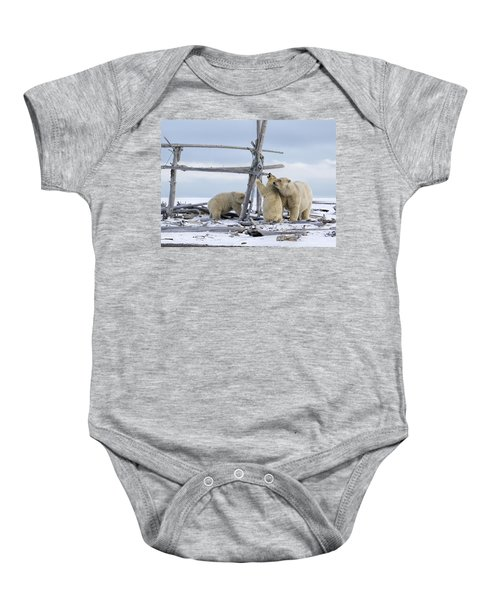 Playtime In The Arctic Baby Onesie