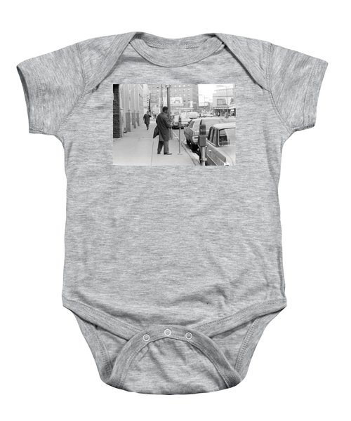 Plugging The Meter Baby Onesie