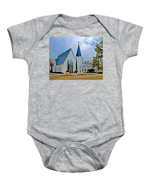 Point Clear Alabama St. Francis Church Baby Onesie