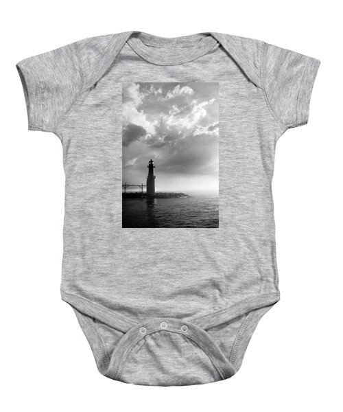 Point Of Inspiration Baby Onesie by Bill Pevlor