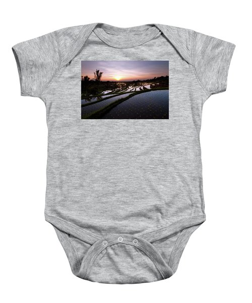 Pools Of Rice Baby Onesie