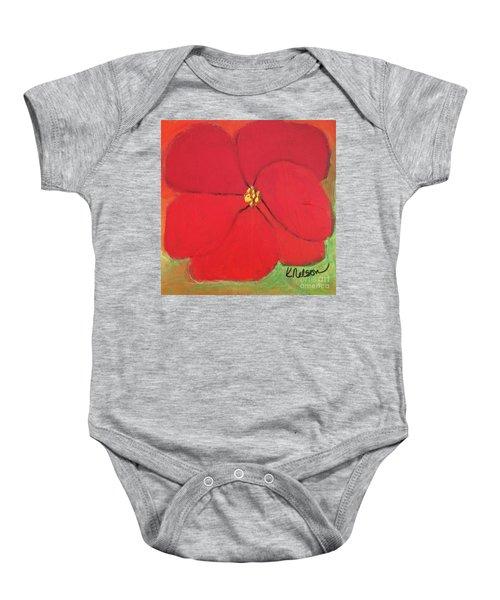 Poppy 2 Baby Onesie