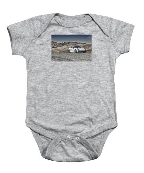Porsche Cayman Gt4 In The Wild Baby Onesie